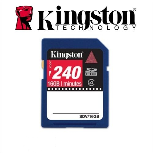 KINGSTON 16GB SECURE DIGITAL SDHC VIDEO CARD