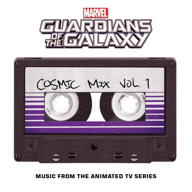 GUARDIANS OF THE GALAXY - COSMIC MIX VOL. 1 - CD SOUNDTRACK