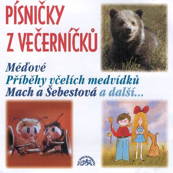 PÍSNIČKY Z VEČERNÍČKŮ - CD