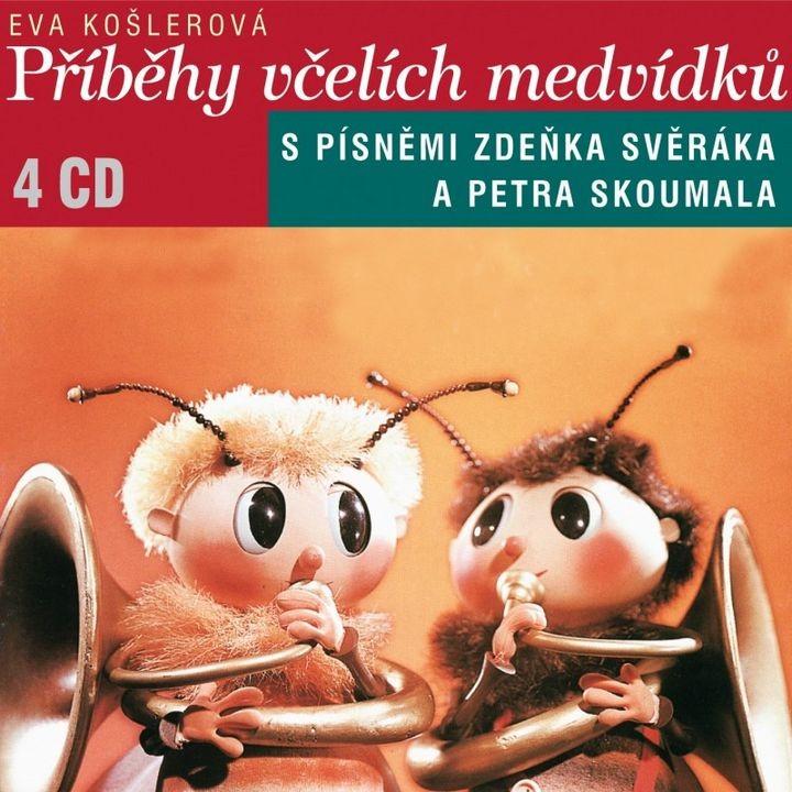 PŘÍBĚHY VČELÍCH MEDVÍDKŮ - 4 CD