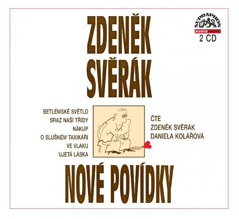 SVĚRÁK ZDENĚK - NOVÉ POVÍDKY - CD