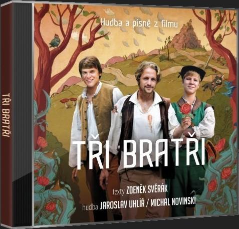 TŘI BRATŘI - SOUNDTRACK - CD