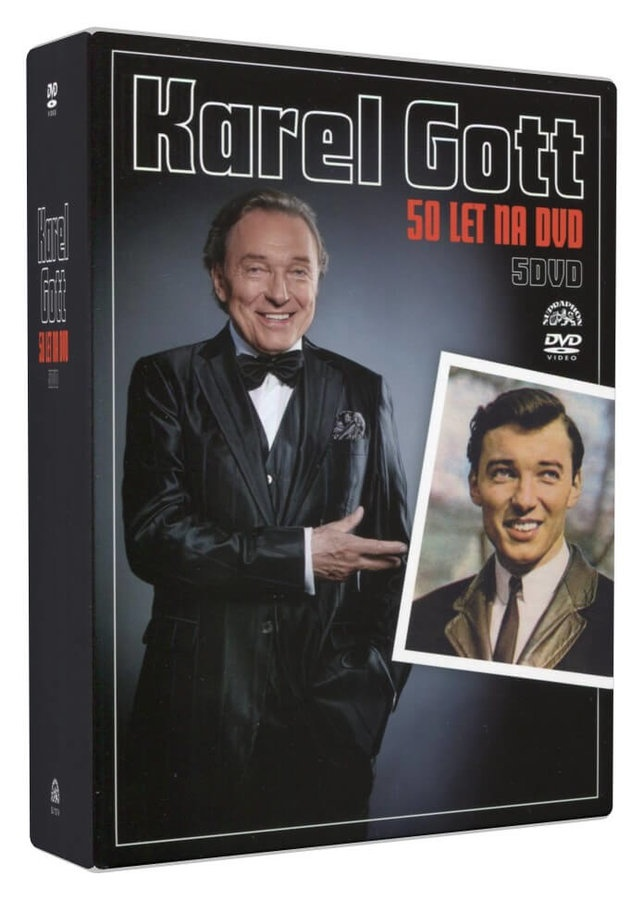 GOTT KAREL: 50 LET NA DVD - 5 DVD