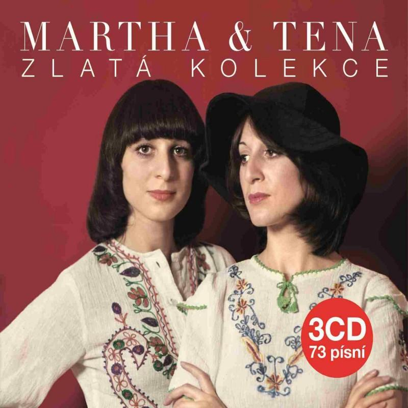 MARTHA A TENA ELEFTERIADU - ZLATÁ KOLEKCE - 3 CD