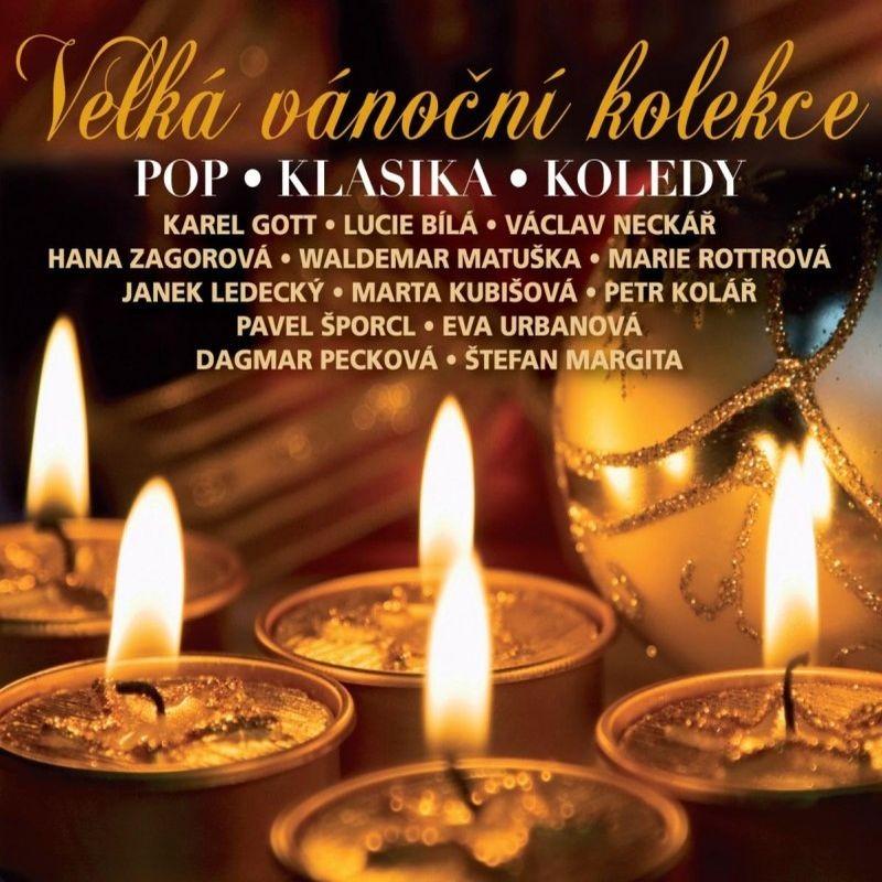 VELKÁ VÁNOČNÍ KOLEKCE - 3 CD