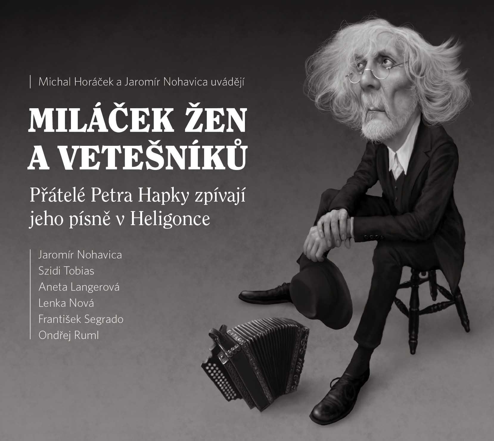 MILÁČEK ŽEN A VETEŠNÍKŮ (Michal Horáček a J.Nohavica) - CD