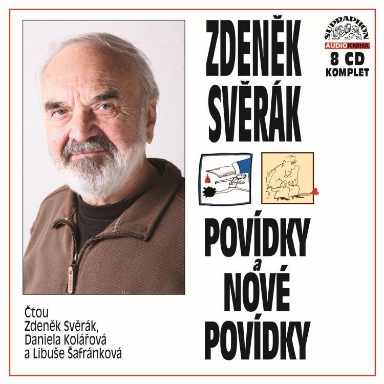 ZDENĚK SVĚRÁK - POVÍDKY A NOVÉ POVÍDKY - 8 CD
