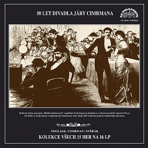 DIVADLO JÁRY CIMRMANA: 50 LET DIVADLA JÁRY CIMRMANA - 16 LP
