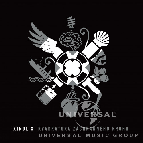 XINDL - X - KVADRATURA ZÁCHRANNÉHO KRUHU - CD