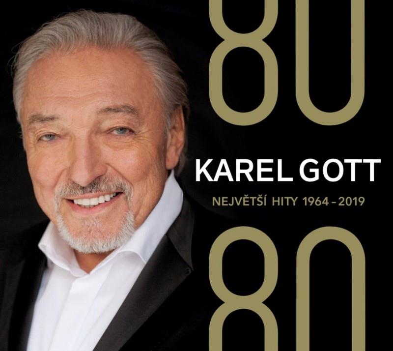 Karel Gott - 80/80 Největší hity 1964 - 2019 - 4CD