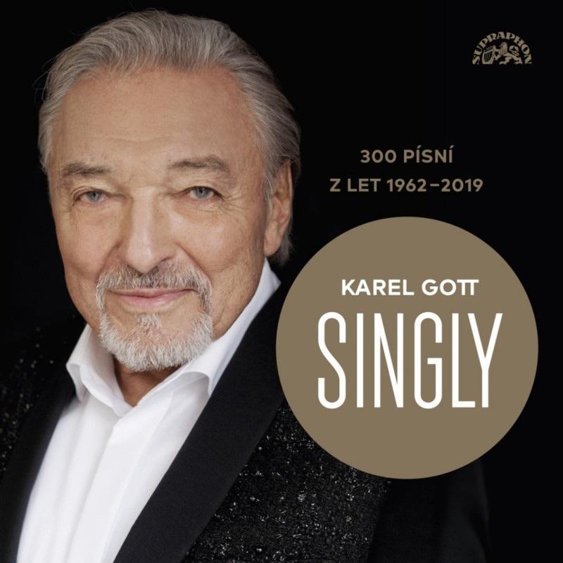 Karel Gott - Singly (300 písní z let 1962 - 2019) - 15 CD