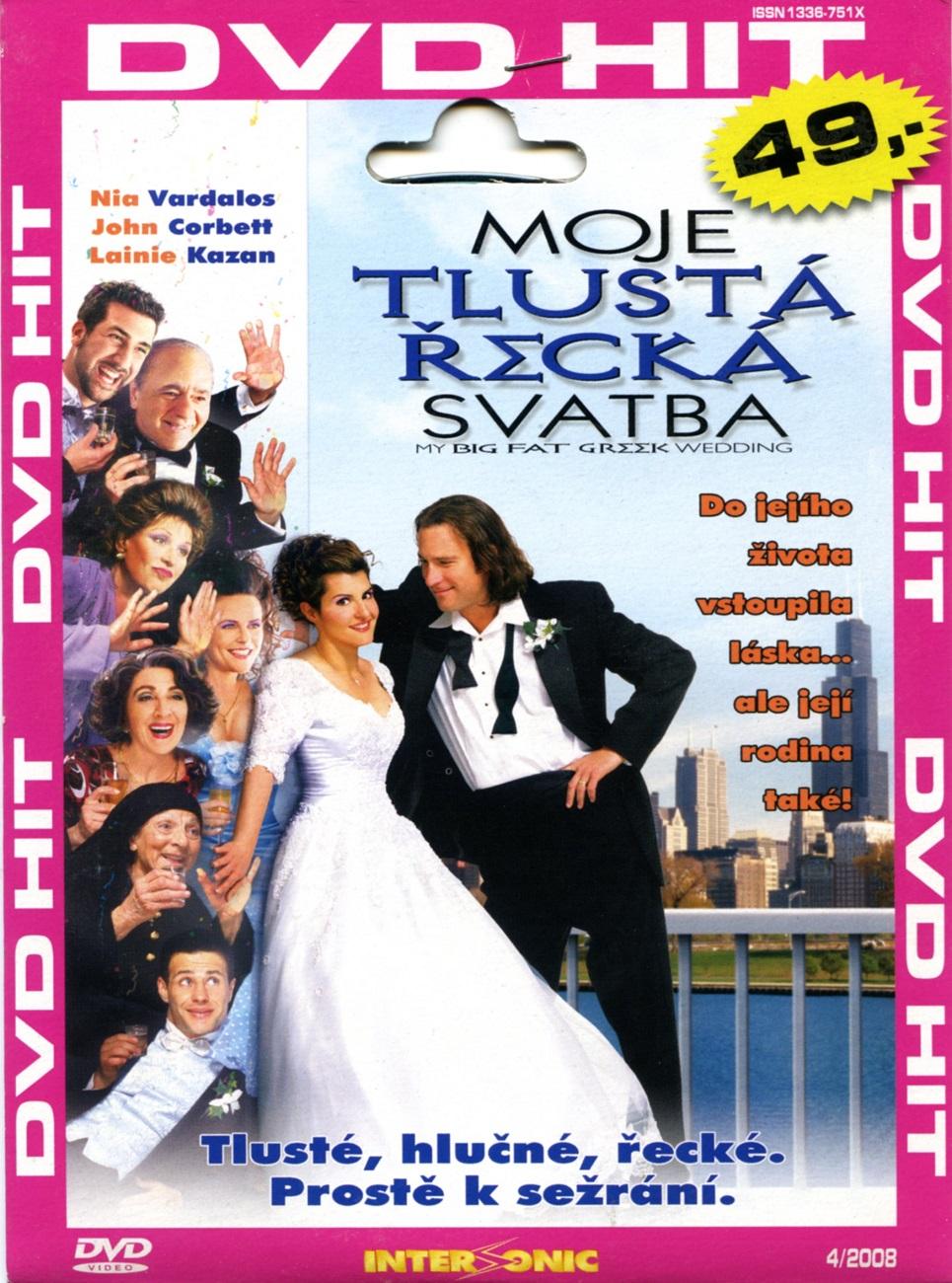MOJE TLUSTÁ ŘECKÁ SVATBA - DVD pošetka