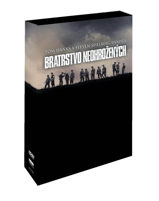 BRATRSTVO NEOHROŽENÝCH - DVD