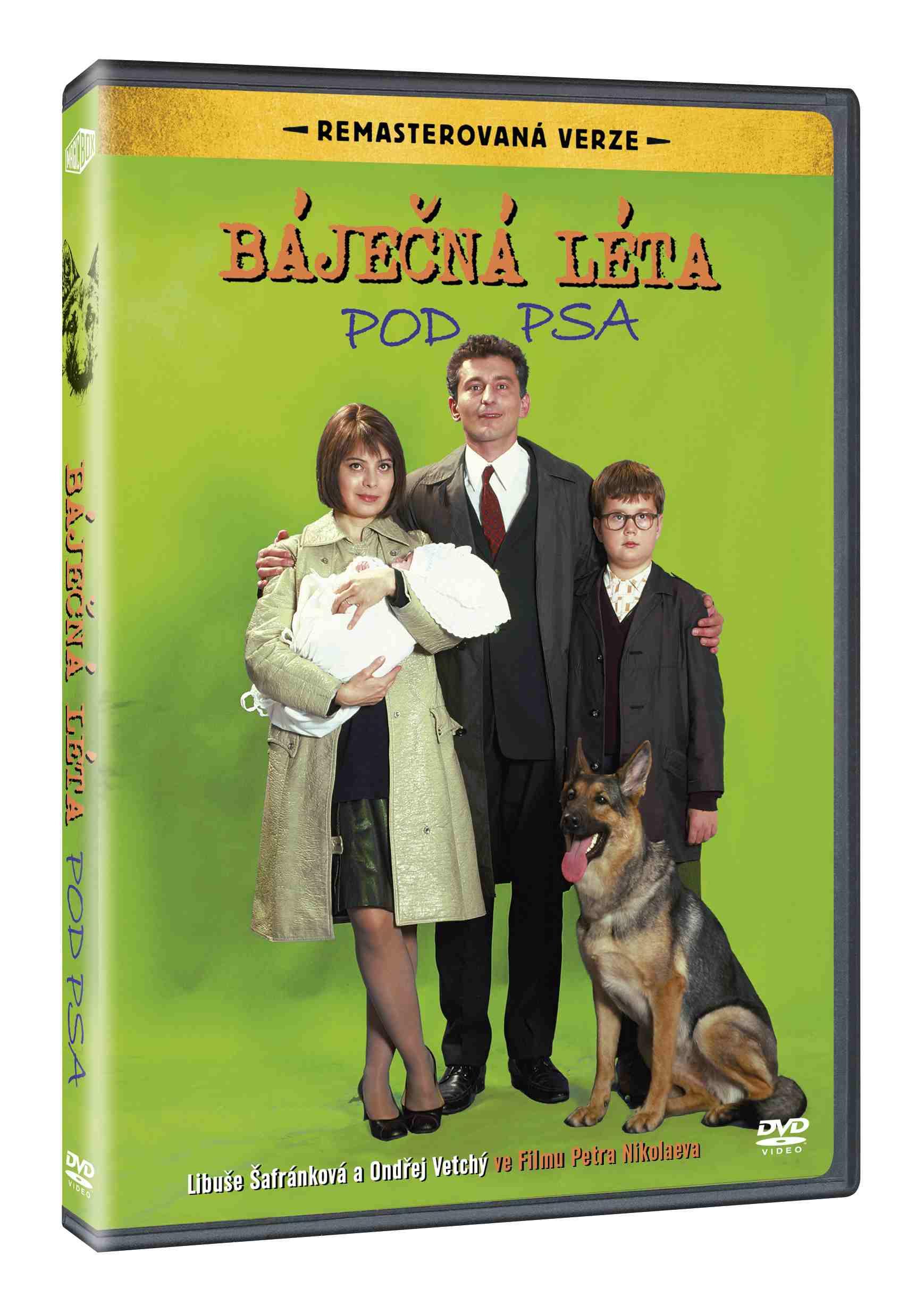BÁJEČNÁ LÉTA POD PSA (Remasterovaná verze) - DVD