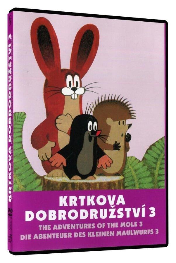 KRTKOVA DOBRODRUŽSTVÍ 3 - DVD (pošetka)