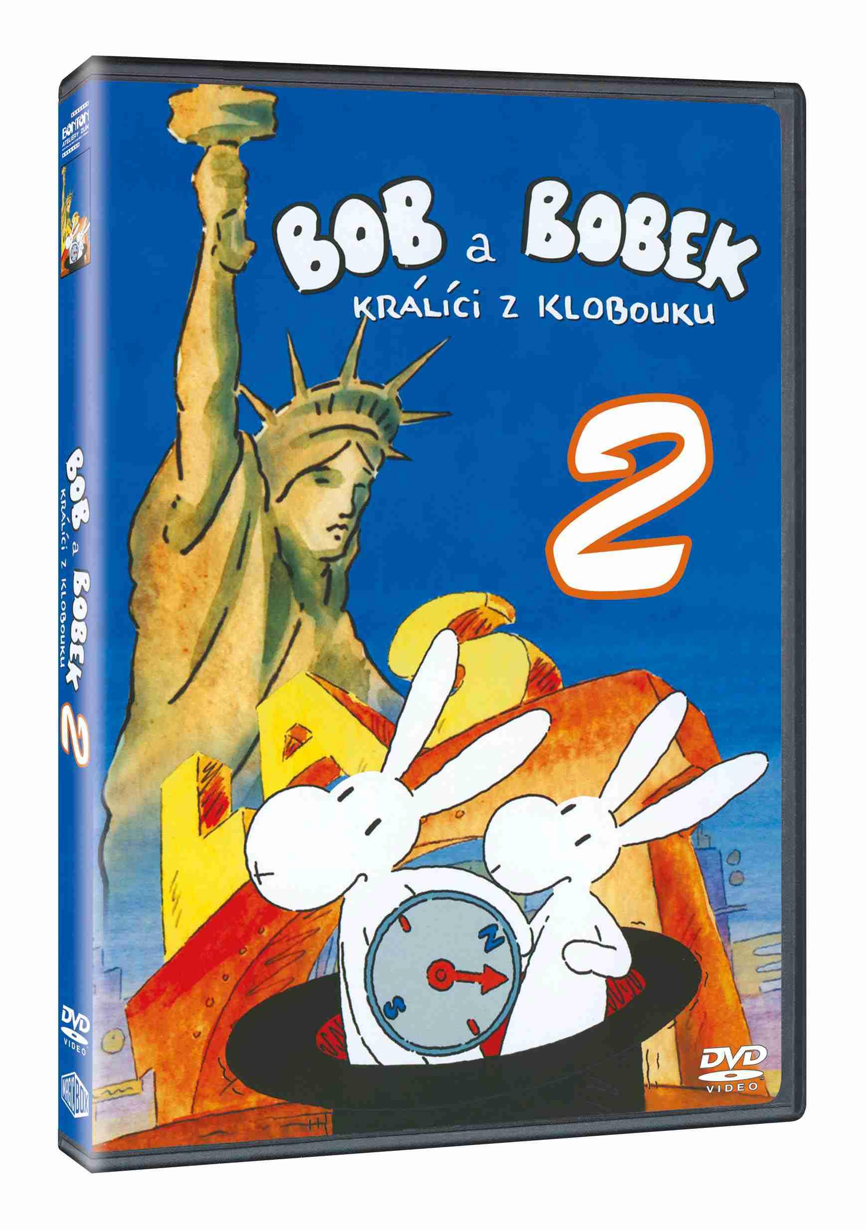 BOB A BOBEK NA CESTÁCH 2 - DVD