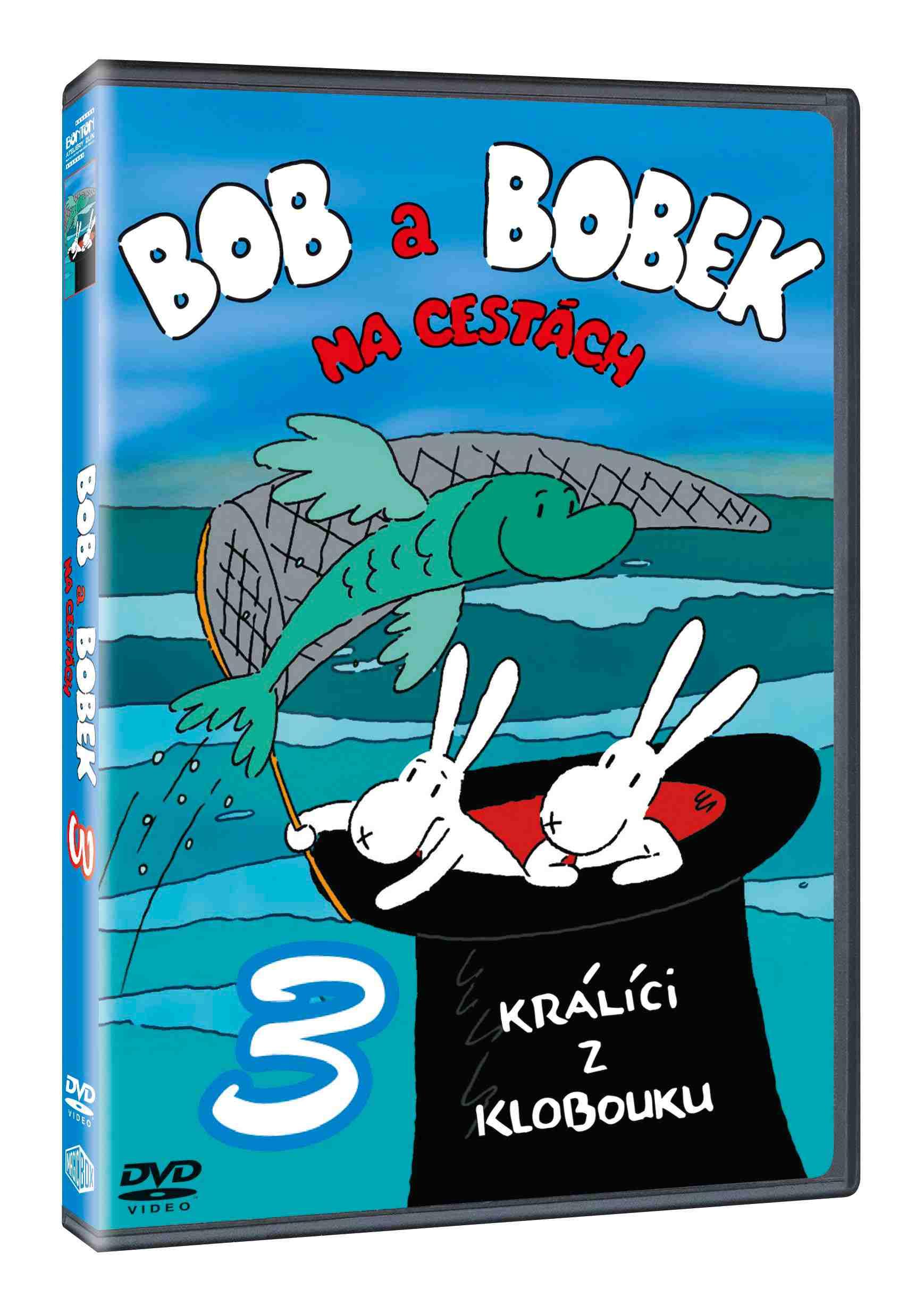 BOB A BOBEK NA CESTÁCH 3 - DVD