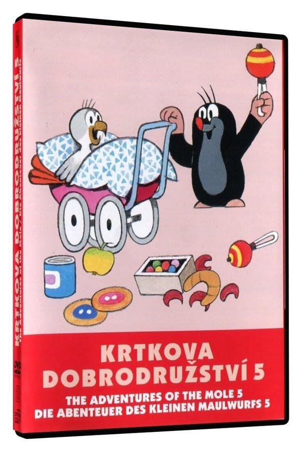 Krtkova dobrodružství 5 - DVD