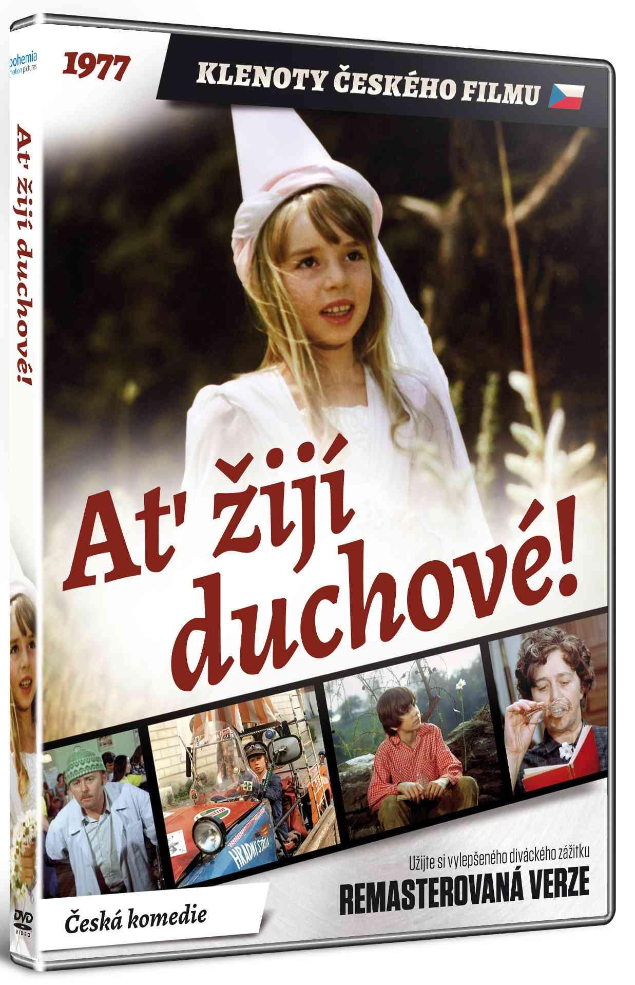 Ať žijí duchové! (Remasterovaná verze) - DVD