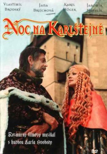 NOC NA KARLŠTEJNĚ - DVD (pošetka)