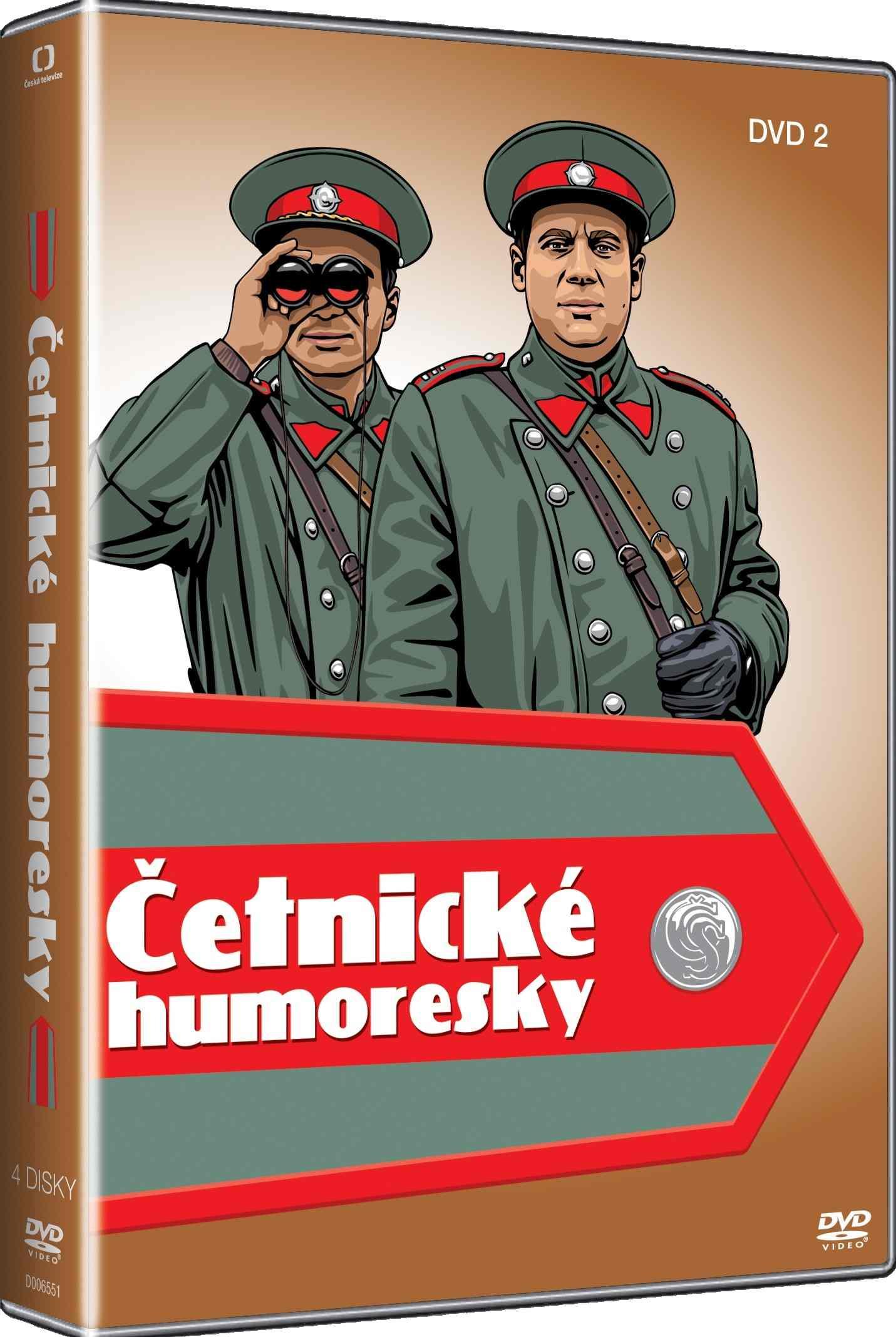 ČETNICKÉ HUMORESKY 2. SÉRIE - 4 DVD