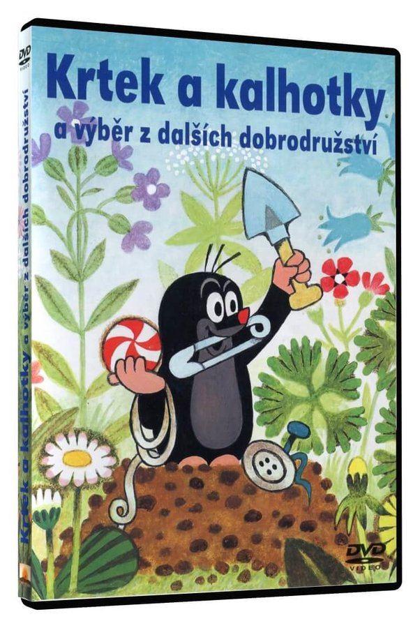 KRTEK A KALHOTKY - DVD (pošetka)