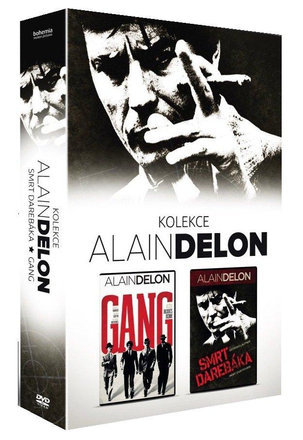 ALAIN DELON KOLEKCE (Gang + Smrt darebáka) - 2 DVD