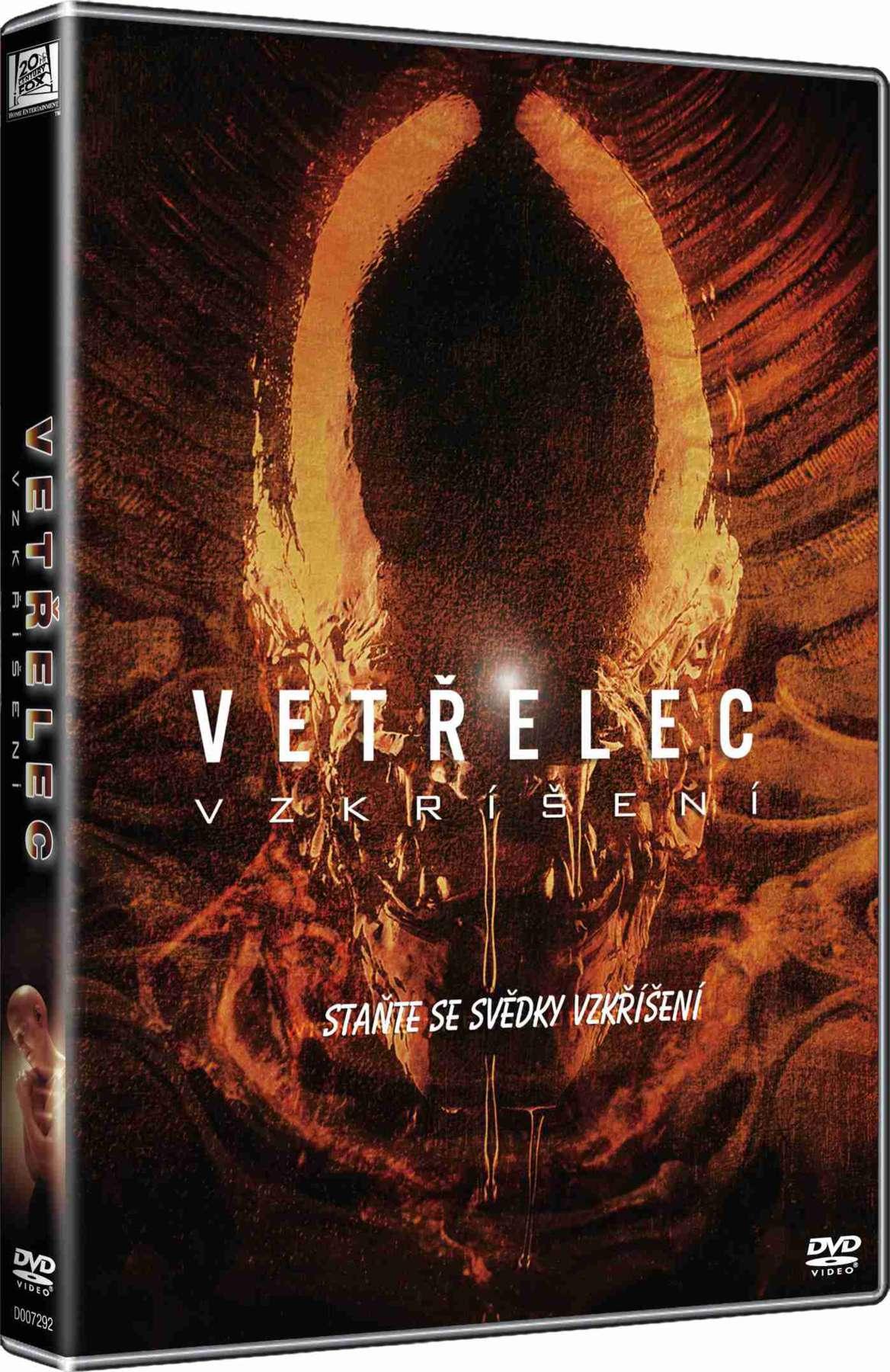 VETŘELEC 4 - Vzkříšení - DVD