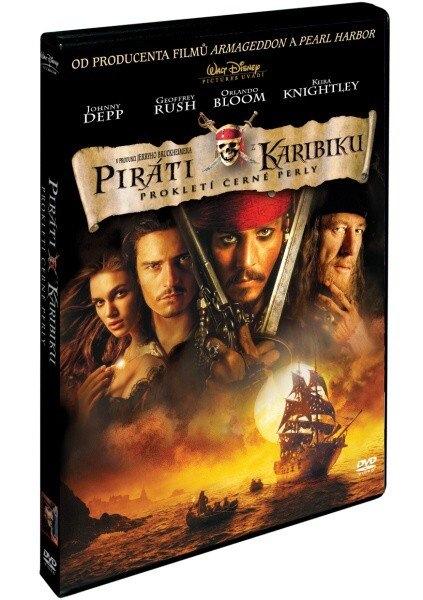 Piráti z Karibiku 1: Prokletí Černé Perly - DVD