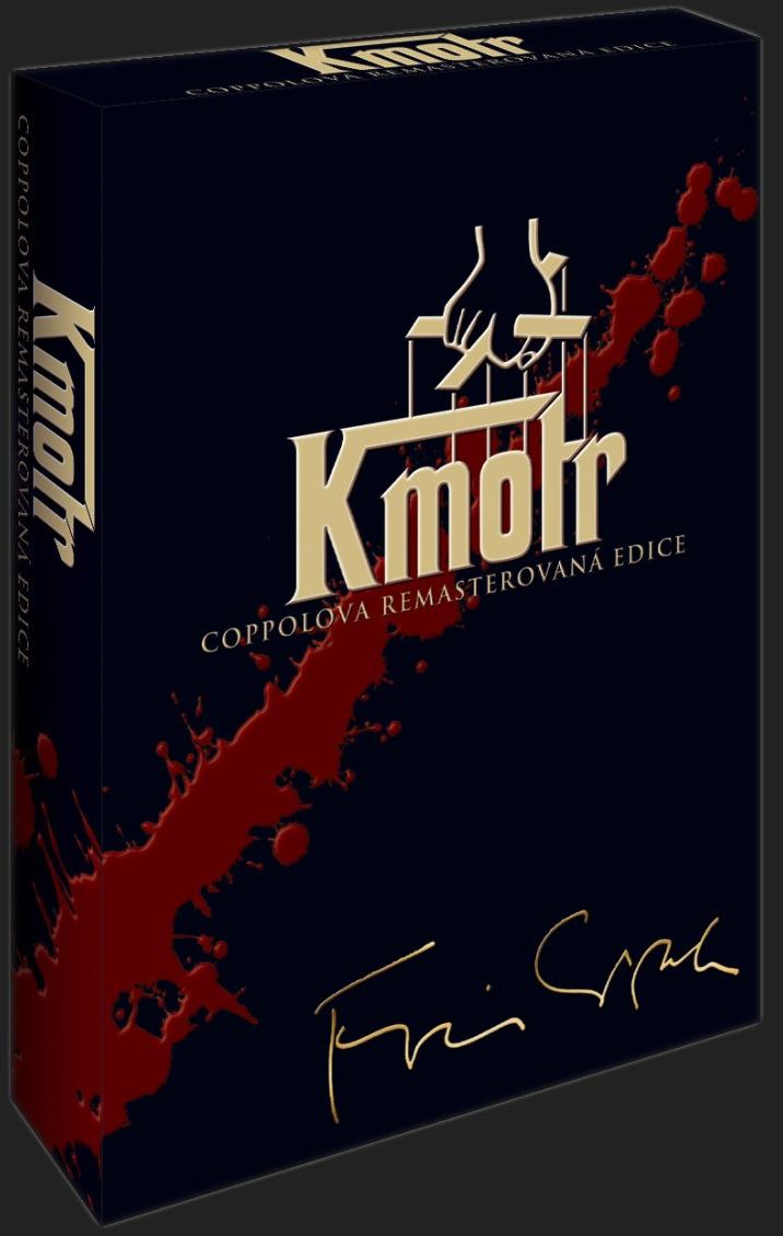 KMOTR DVD trilogie - DVD