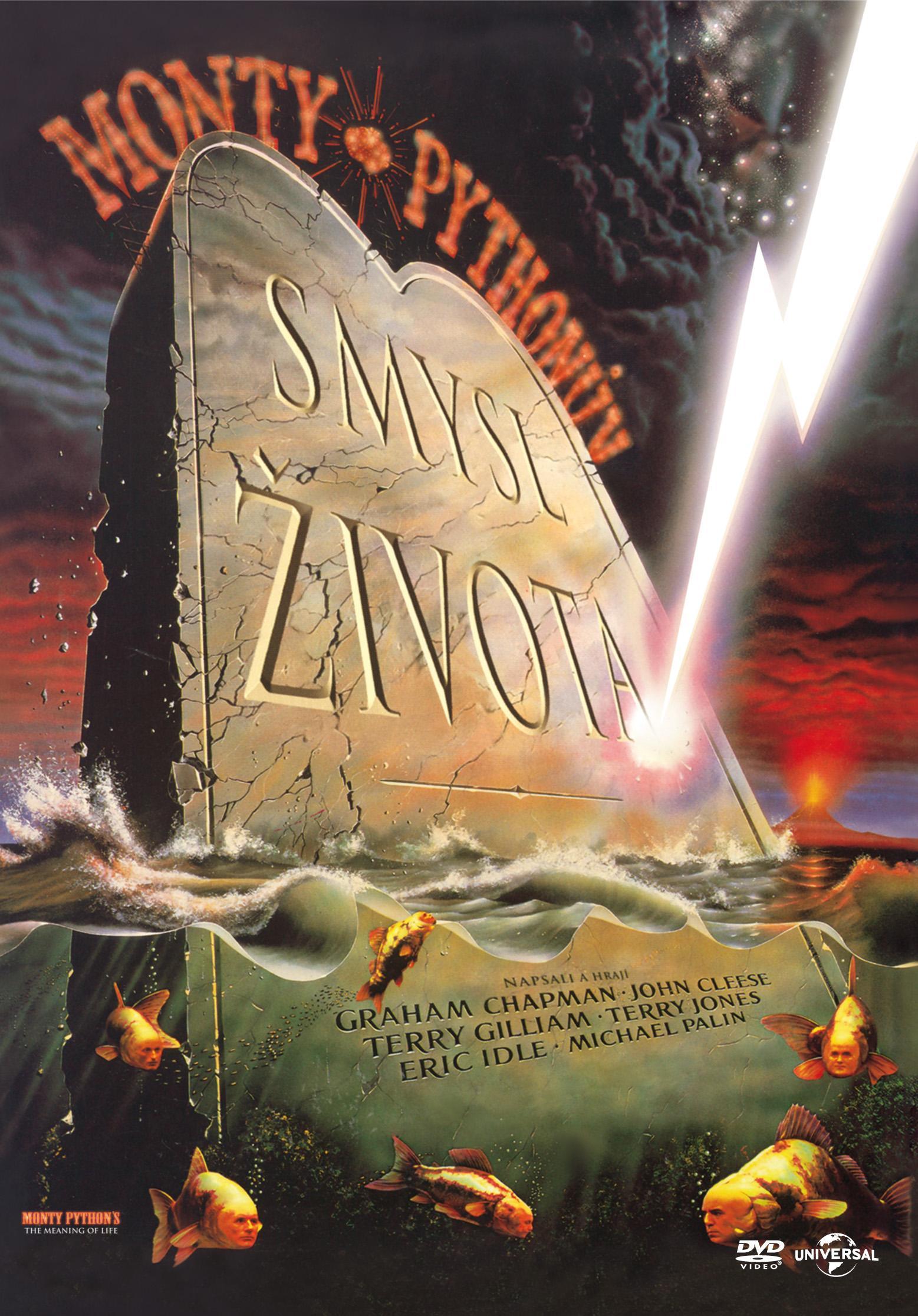 MONTY PYTHON: SMYSL ŽIVOTA - DVD