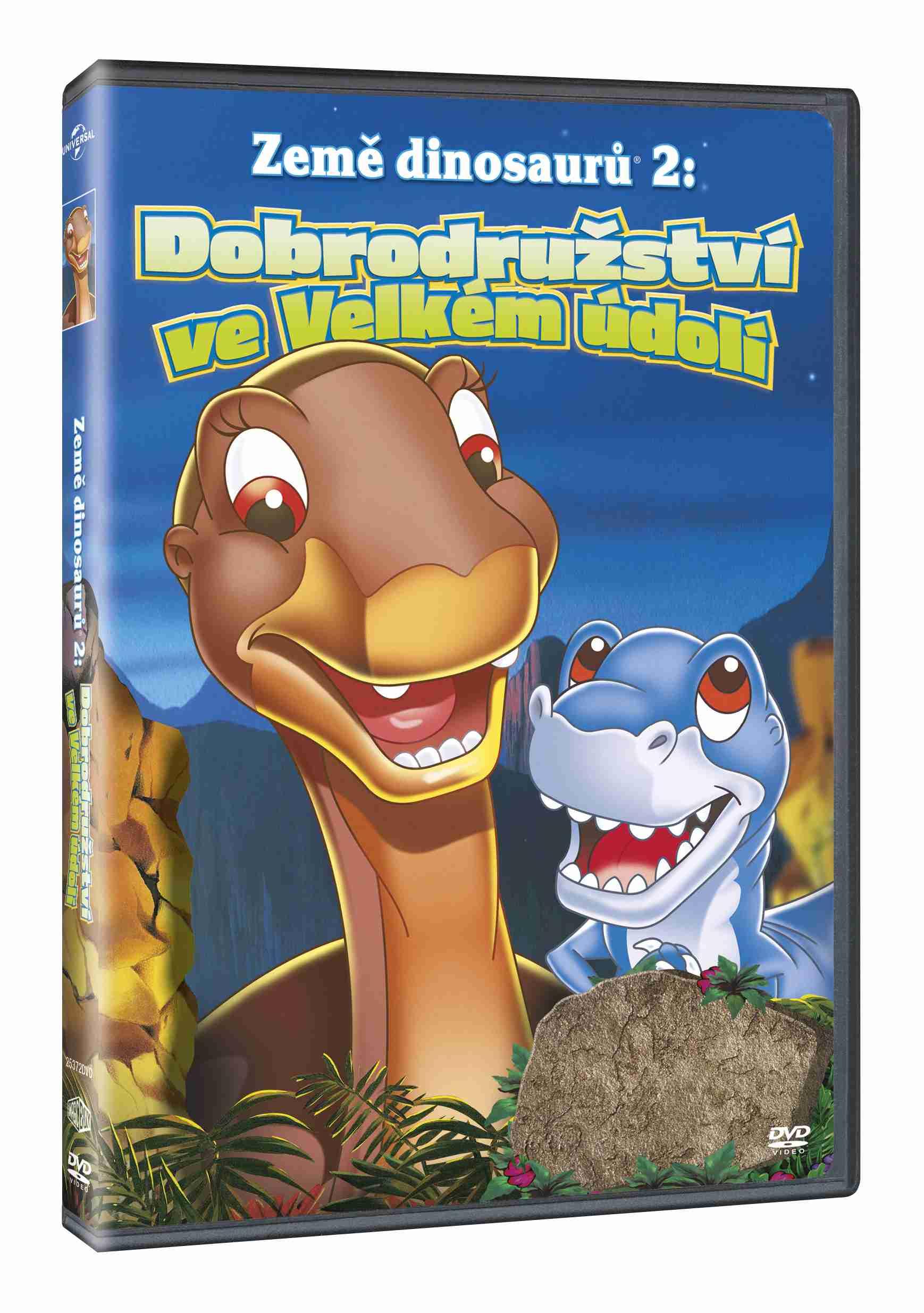 Země dinosaurů 2: Dobrodružství ve velkém údolí - DVD