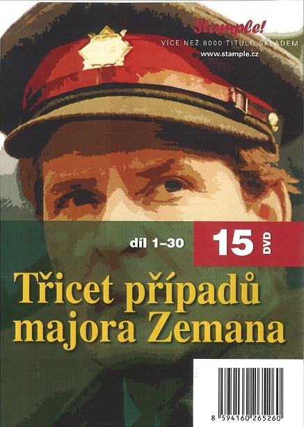 30 PŘÍPADŮ MAJORA ZEMANA - KOMPLET - 15 DVD
