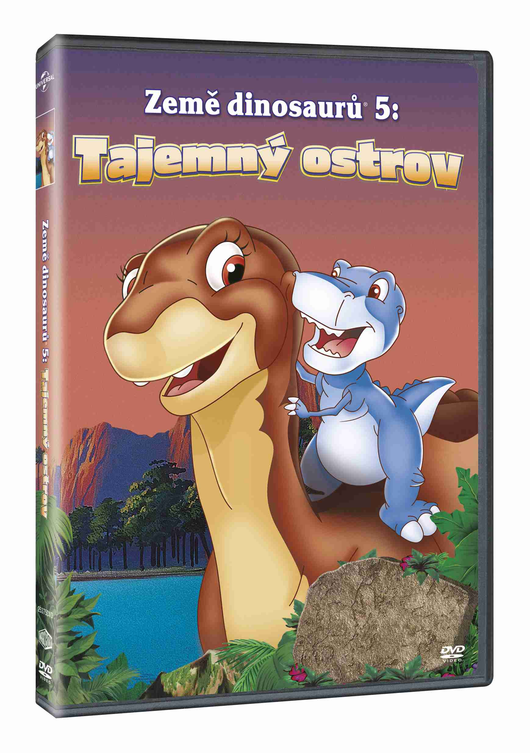 Země dinosaurů 5: Tajemný ostrov - DVD