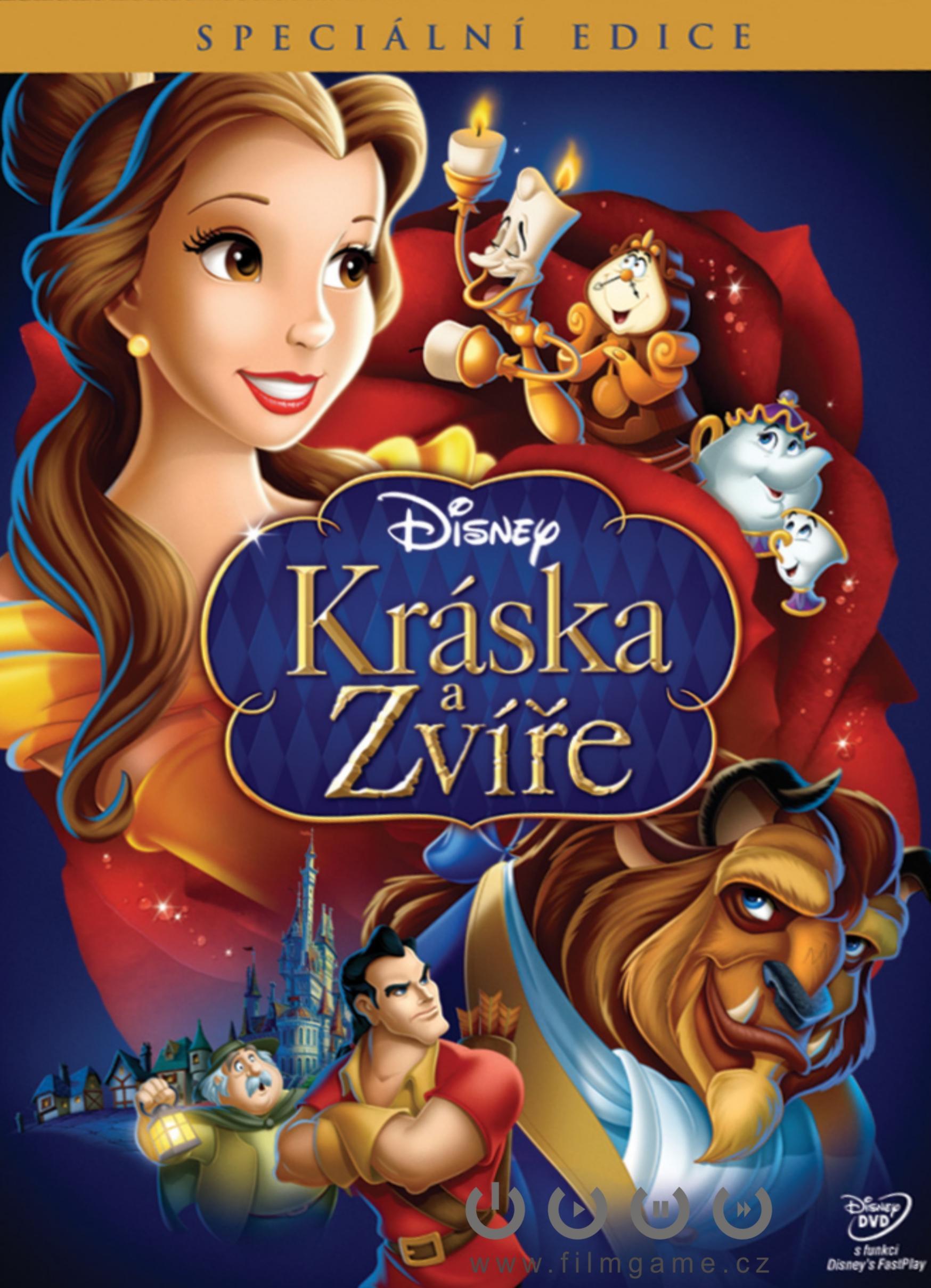 Kráska a zvíře - DVD