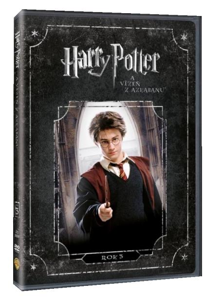 HARRY POTTER 3 A VĚZEŇ Z AZKABANU - DVD