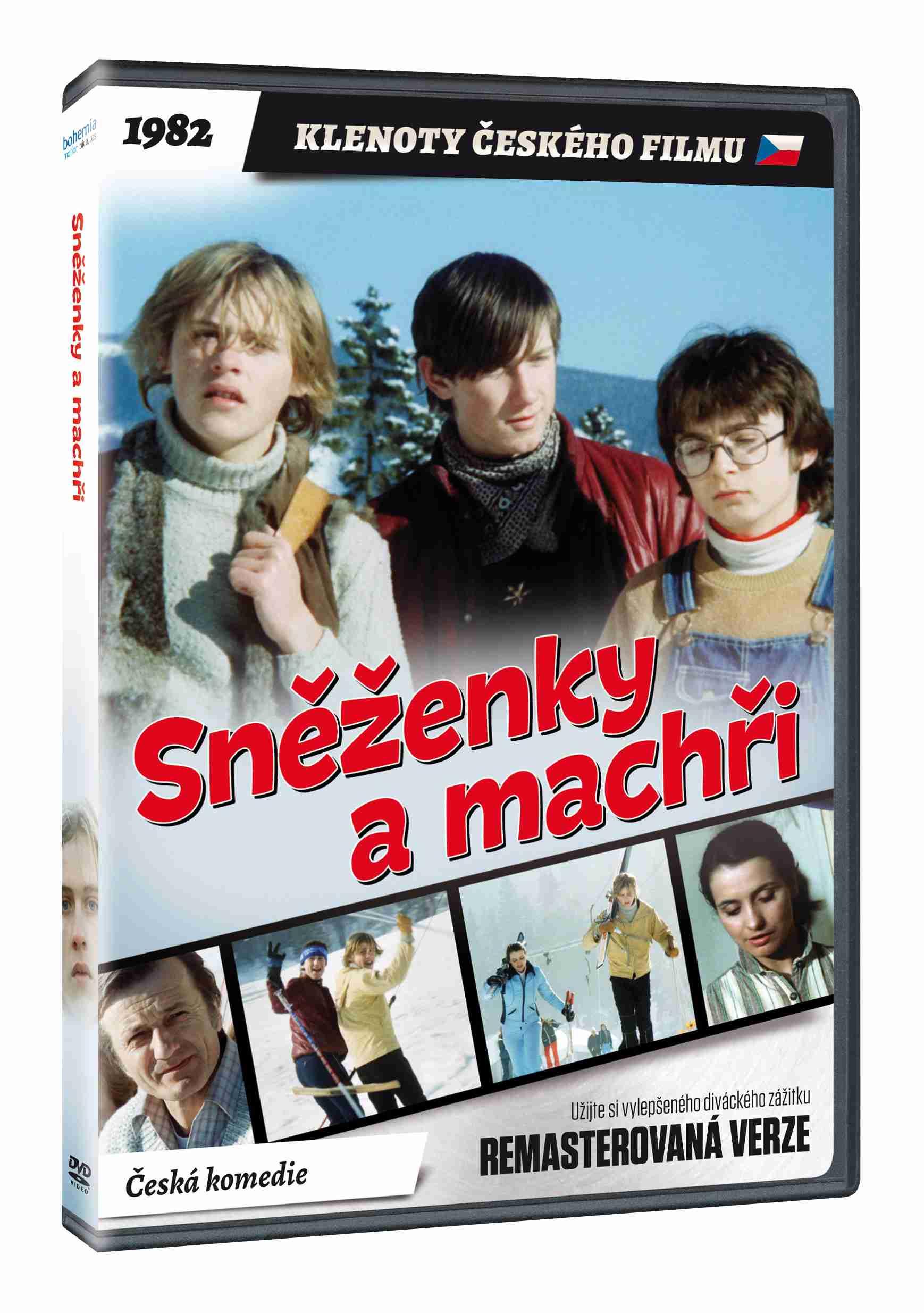 Sněženky a machři - DVD (remasterovaná verze)