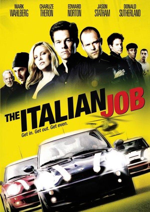 Loupež po italsku (2003) - DVD