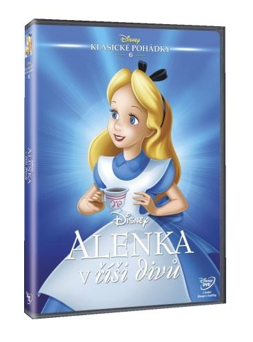 ALENKA V ŘÍŠI DIVŮ - DISNEY (1951) - DVD