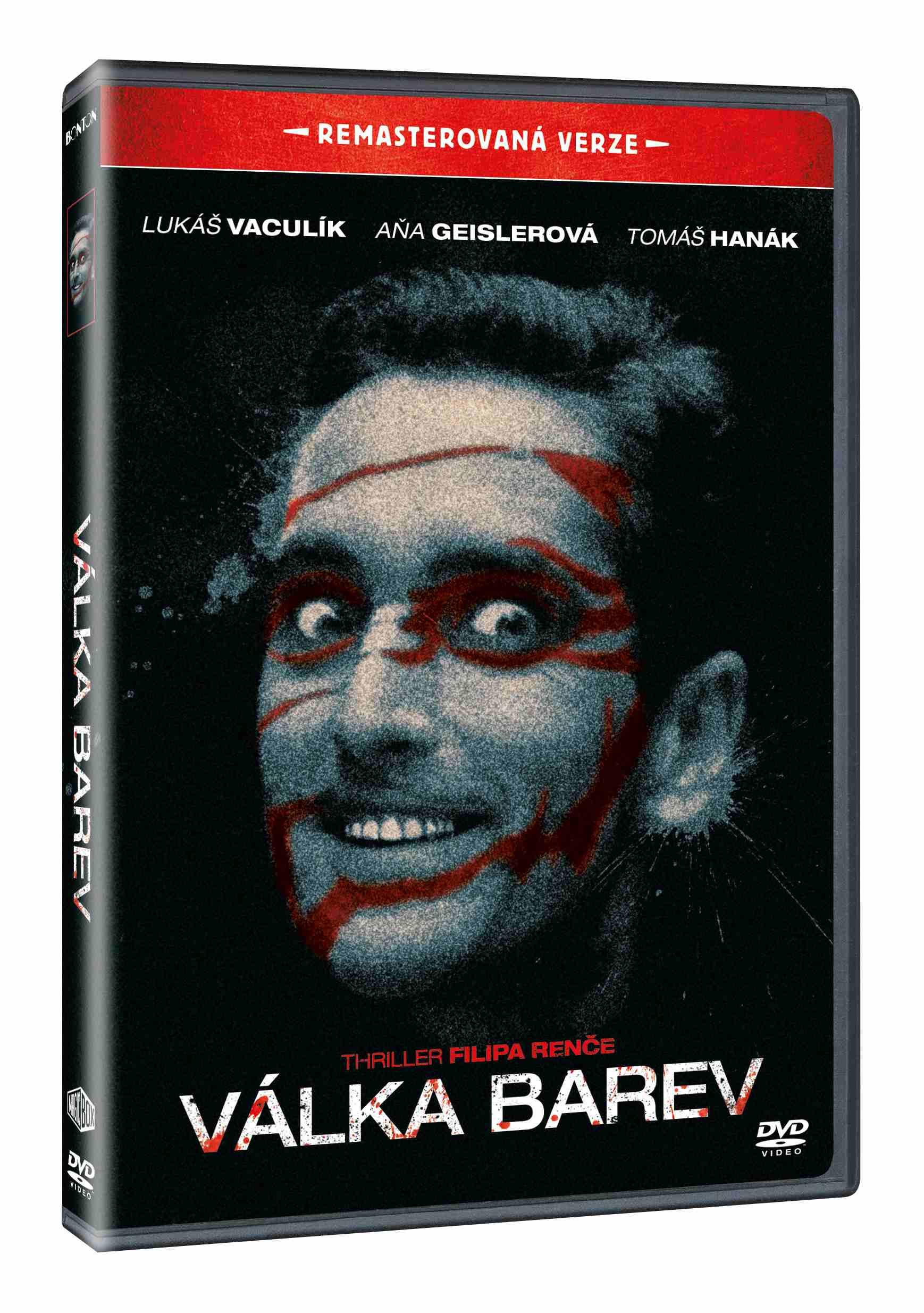 VÁLKA BAREV (Remasterovaná verze) - DVD