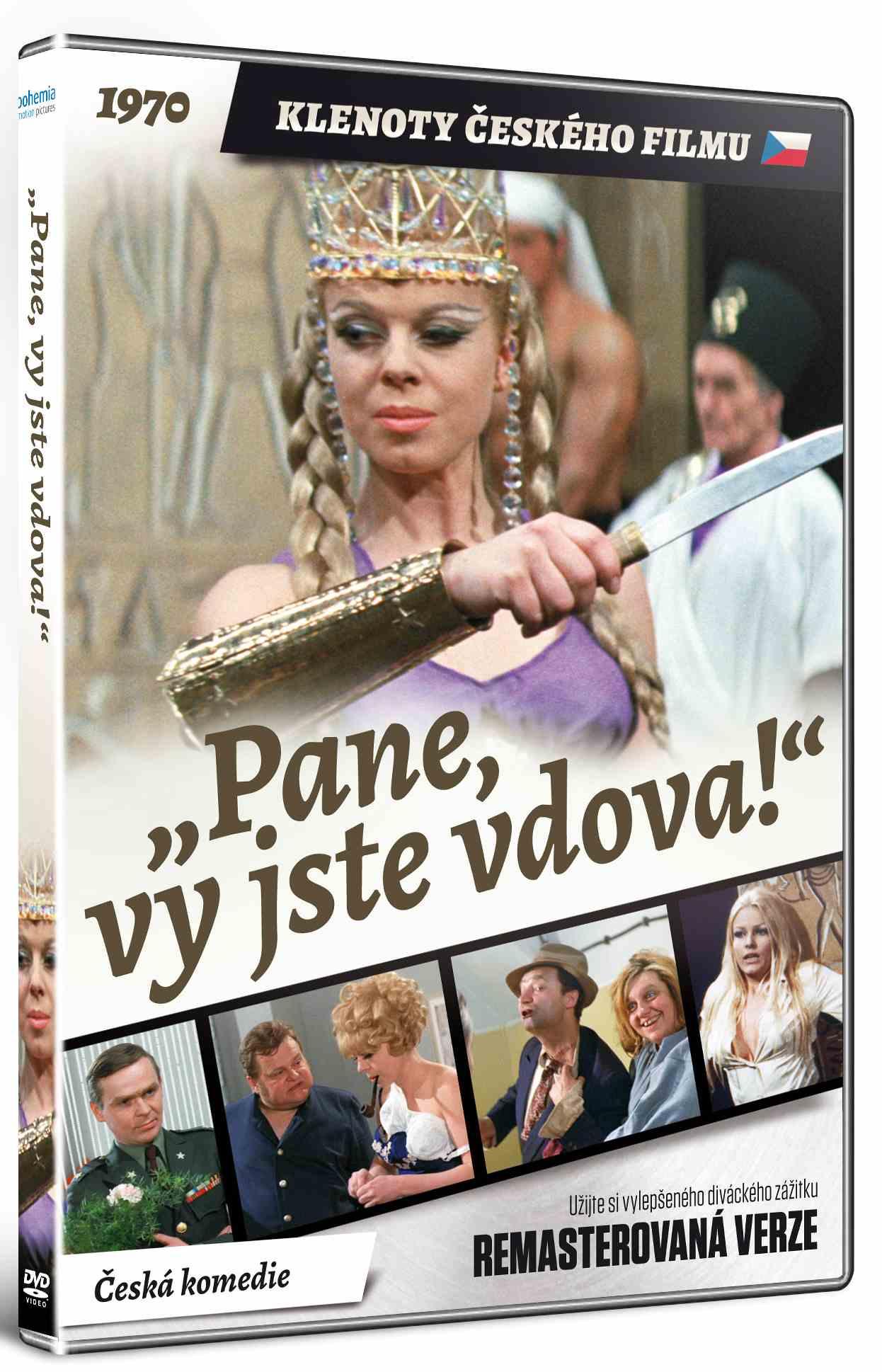 Pane, vy jste vdova! (Remasterovaná verze) - DVD