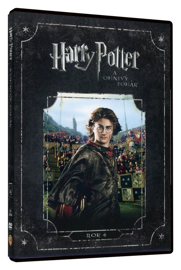 HARRY POTTER 4 A OHNIVÝ POHÁR - DVD