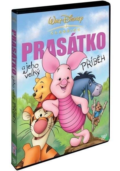 Prasátko a jeho velký příběh - DVD