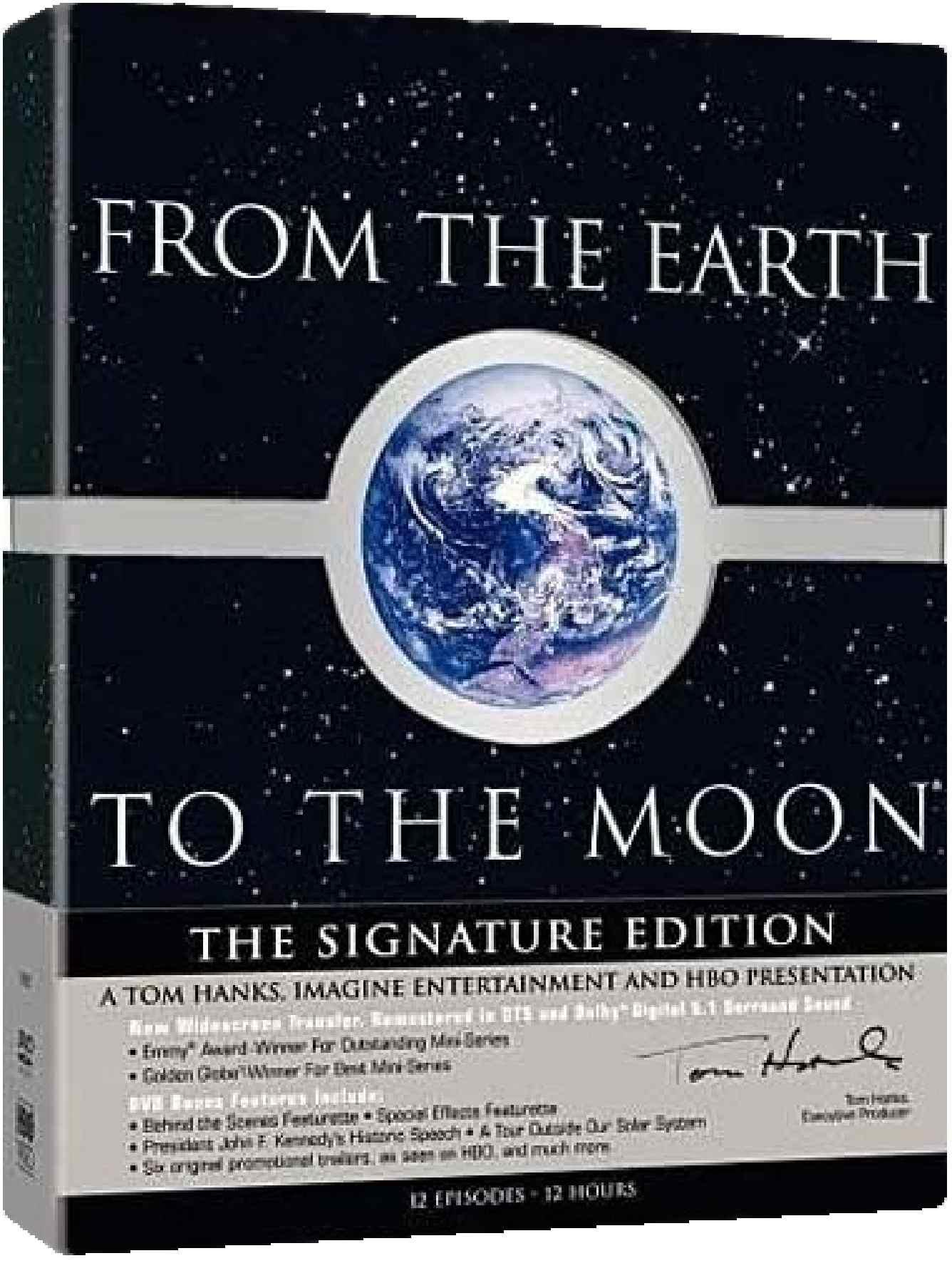 Ze země na Měsíc - 5 DVD