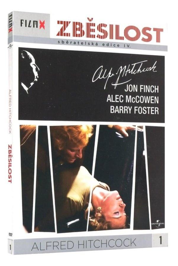 ZBĚSILOST FILM-X - DVD (A. Hitchcock)