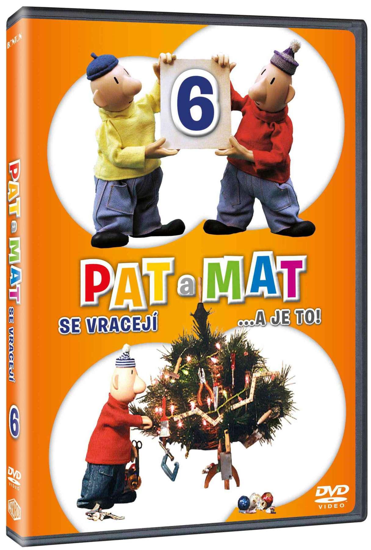 PAT A MAT 6 (A JE TO) - DVD