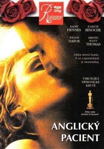 Anglický pacient - DVD pošetka