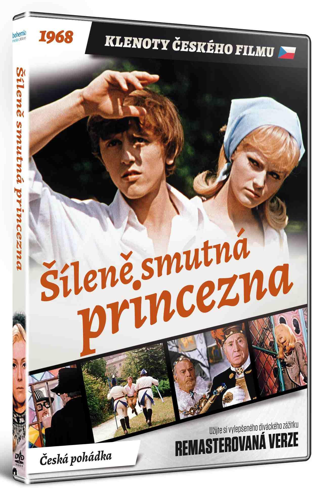 ŠÍLENĚ SMUTNÁ PRINCEZNA (Remasterovaná verze) - DVD