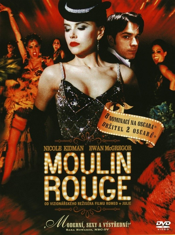 MOULIN ROUGE CZ DABING - DVD