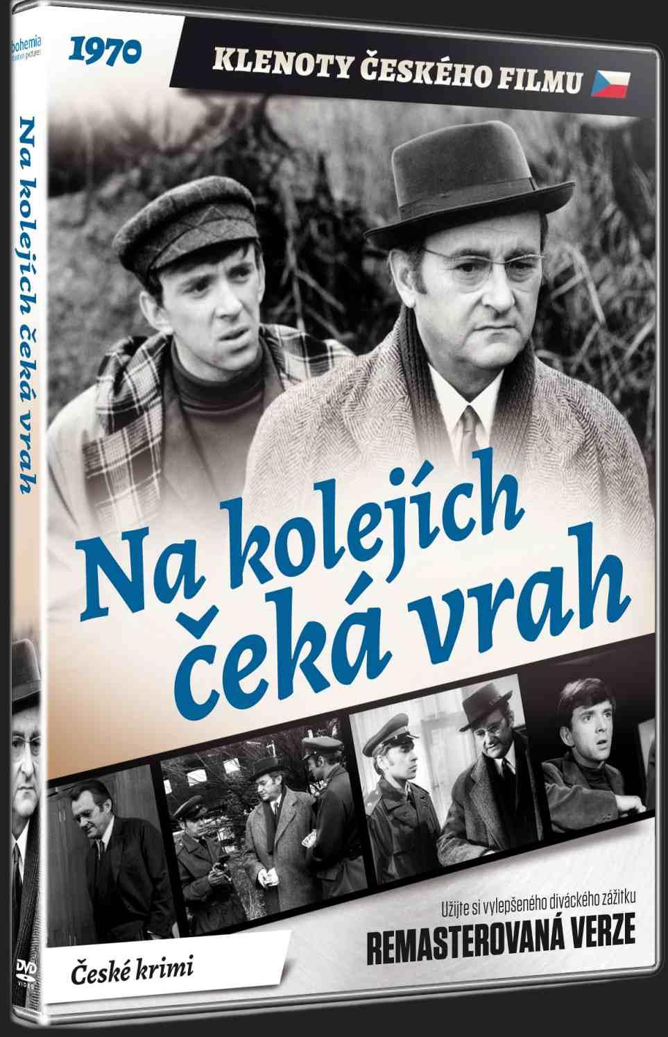 NA KOLEJÍCH ČEKÁ VRAH (Remasterovaná verze) - DVD